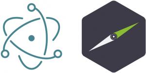 Electron and NW.js logos